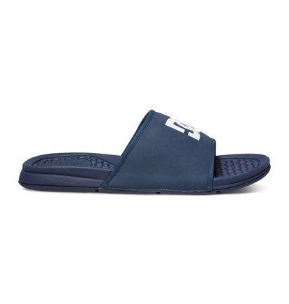 Bolsa SandalsМужские сланцы Bolsa от DC Shoes. <br>ХАРАКТЕРИСТИКИ: верх из синтетической кожи с пенным наполнителем, удобный и прочный полимер EVA двойной плотности. <br>СОСТАВ: верх – синтетика / подкладка – текстиль / подошва – EVA.<br>