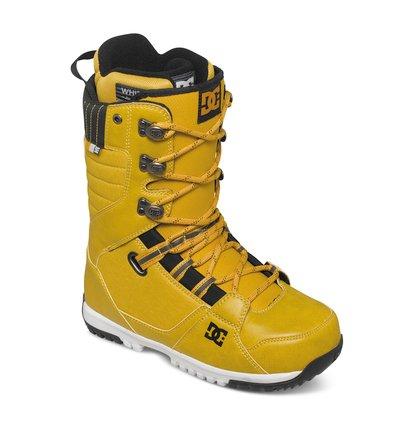 MutinyМужские сноубордические ботинки Mutiny из сноубордической коллекции DC Shoes. ХАРАКТЕРИСТИКИ: традиционная шнуровка, каучуковая контактная подошва UniLite, внутренний сапог White, стелька Impact S, трос выведен в стенки лодыжки.<br>
