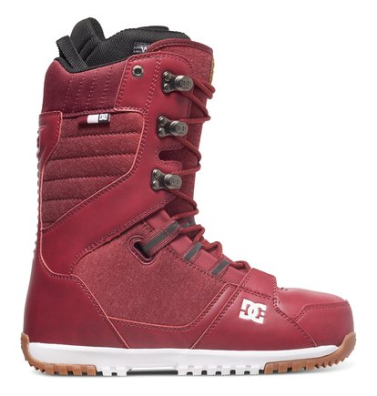 Купить Сноубордические ботинки Mutiny - Красный, DC Shoes, Верх — синтетика; подкладка — текстиль; подошва — полимер EVA