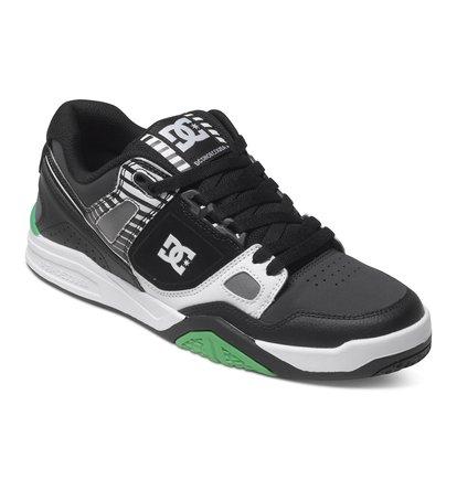 Stag 2 JM Low Top ShoesНизкие мужские кеды Stag 2 JM от DC Shoes. <br>ХАРАКТЕРИСТИКИ: авторская расцветка от Джереми МакГрэта, обновленная межподошва, дизайн верха на основе предыдущей модели, верх из плотной кожи и нубука. <br>СОСТАВ: верх – кожа / подкладка – текстиль / подошва – каучук.<br>