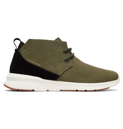Купить Кроссовки Ashlar - Черный, DC Shoes, ВЕРХ — кожа, ПОДКЛАДКА — текстиль, ПОДОШВА — полимер EVA