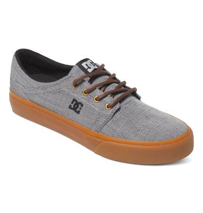 Trase TX SE Low Top ShoesНизкие мужские кеды Trase TX SE от DC Shoes. <br>ХАРАКТЕРИСТИКИ: принт с логотипом, прочные вощеные шнурки, логотип DC со звездой на пятке, высоко расположенная бейка – смотрится необычно и стильно, парусиновый верх, HD-принт с логотипом, металлическая окантовка отверстий для шнуровки, вулканизированная конструкция, износостойкая каучуковая подошва, фирменный «утопленный» рисунок протектора подошвы DC Pill Pattern. <br>СОСТАВ: верх – текстиль / подкладка – текстиль / подошва – каучук.<br>