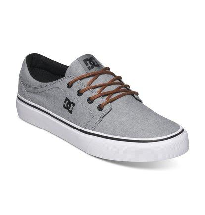 dcshoes s trase tx se low top shoes light grey lgr