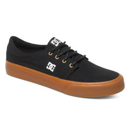 Trase TX Low Top ShoesНизкие мужские кеды Trase TX от DC Shoes. <br>ХАРАКТЕРИСТИКИ: низкопрофильный дизайн, минималистичный верх, логотип DC со звездой на пятке, высоко расположенная бейка – смотрится необычно и стильно, парусиновый верх, HD-принт с логотипом, металлическая окантовка отверстий для шнуровки, вулканизированная конструкция, износостойкая каучуковая подошва, фирменный «утопленный» рисунок протектора подошвы DC Pill Pattern. <br>СОСТАВ: верх – текстиль / подкладка – текстиль / подошва – каучук.<br>