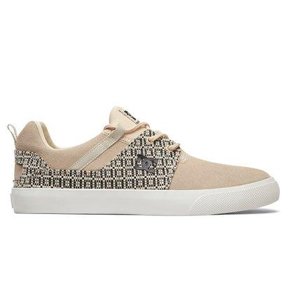 Купить Кеды Heathrow Vulc LE - Коричневый, DC Shoes