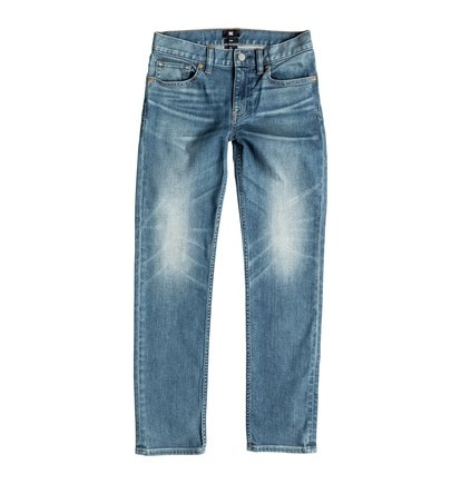Dcshoes Узкие джинсы для мальчиков Washed Light Stone Washed Light Stone Slim Fit Jeans