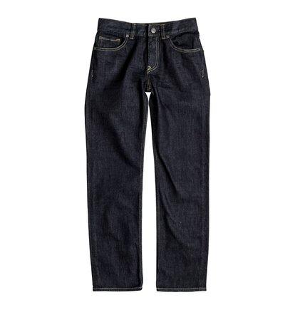Worker Indigo Rinse - Straight Fit Jeans  EDBDP03034