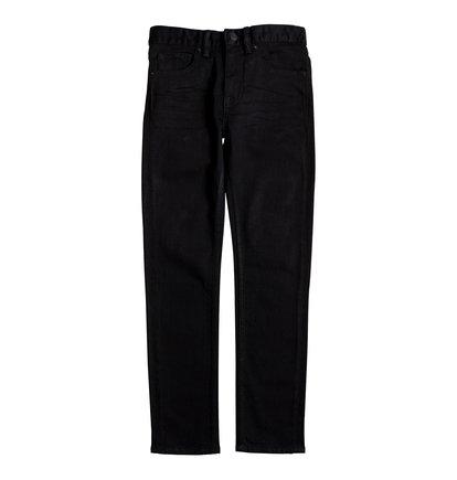Купить Узкие джинсы Worker - Черный, DC Shoes, 98% хлопок, 2% эластан