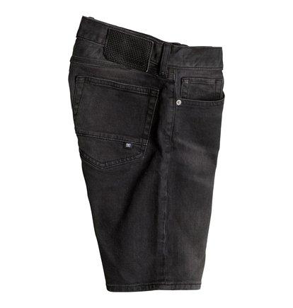 Джинсовые шорты Washed Straight