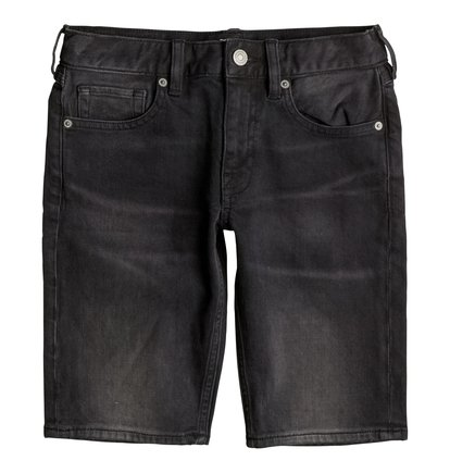 Washed Straight - Denim Shorts  EDBDS03011