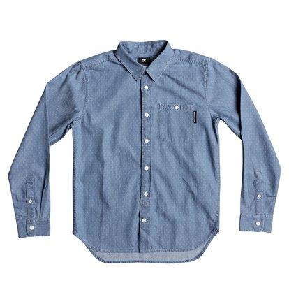 Купить Рубашка с длинным рукавом Swalendalen - Синий, DC Shoes, 100% хлопок
