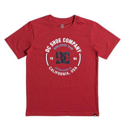Купить Футболка Team Persist - Красный, DC Shoes, 100% хлопок
