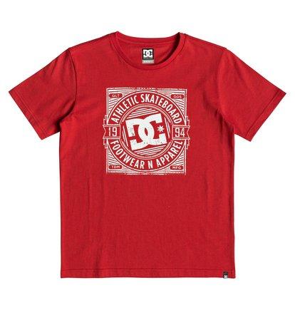 Spot Rusher - T-shirt pour garçon 8-16 ans - Rouge - DC Shoes