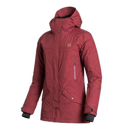 NatureЖенская сноубордическая куртка Nature из сноубордической коллекции DC Shoes. ХАРАКТЕРИСТИКИ: капюшон с козырьком, полностью проклеенные швы, сеточная вентиляция, капюшон с регулировкой, съемная противоснежная юбка. СОСТАВ: 100% нейлон.<br>