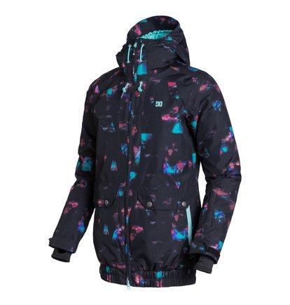 RijiЖенская сноубордическая куртка Riji из сноубордической коллекции DC Shoes. ХАРАКТЕРИСТИКИ: капюшон с козырьком, критические швы проклеены, сеточная вентиляция, противоснежная юбка, капюшон с регулировкой. СОСТАВ: 100% полиэстер.<br>