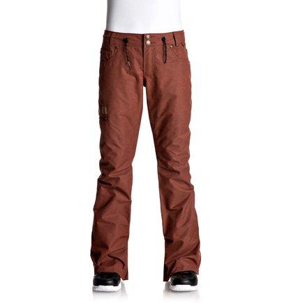 Купить Сноубордические штаны Viva - Красный, DC Shoes, 100% полиэстер