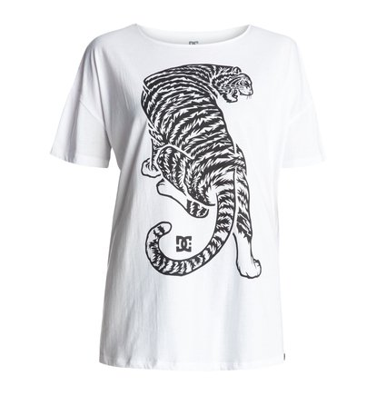 Tiger Attack Loose - T-Shirt  EDJZT03061