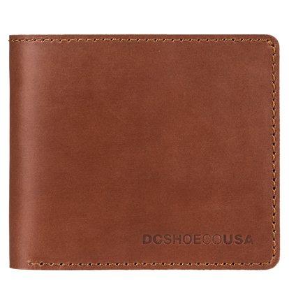 Купить Кожаный кошелек Spark It - Коричневый, DC Shoes, 100% кожа
