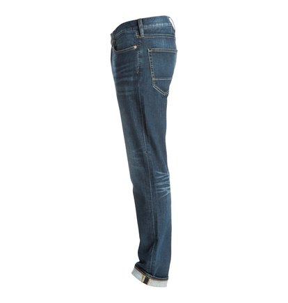 Прямые джинсы Washed Medi Stone