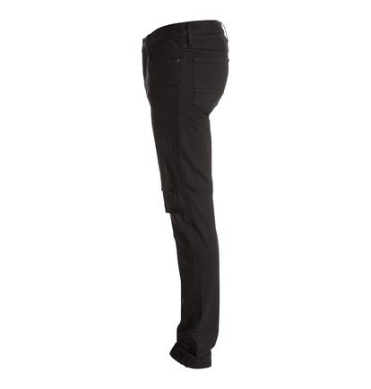Узкие джинсы Black DestroyedThe versatile slim fit, the must-have fit for every self-respecting mans wardrobe, comes in a dark black on these jeans. Destroyed to perfection, with rips in the knees and just a hint of stretch puts comfort first, while the mid-weight denim means theyre your go-to-piece for every season.<br>
