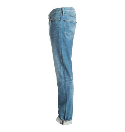 Dcshoes Прямые джинсы Washed Indigo Bleach