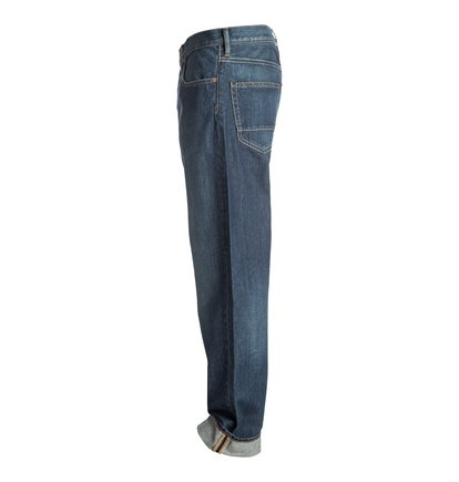 Worker Roomy Stone Wash - Roomy Fit Jeans<br>