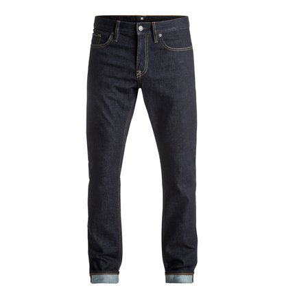 Worker Indigo Rinse - Slim Fit Jeans  EDYDP03302