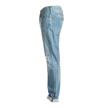 Dcshoes Прямые с зауженными книзу штанинами джинсы Washed Indigo Desty