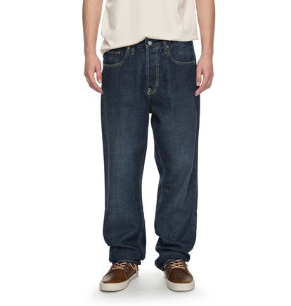 Worker Stone Wash Relaxed - Relaxed Fit Jeans  EDYDP03323