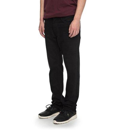 Узкие джинсы Worker Black Rinse Slim