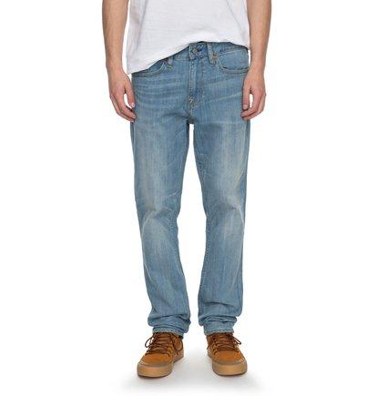 Worker Light Indigo Bleach Slim - Slim Fit Jeans  EDYDP03334