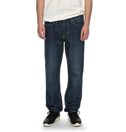 Worker Stone Wash Straight - Straight Fit Jeans  EDYDP03338