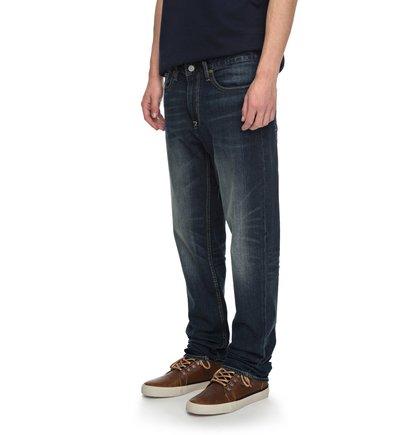 Прямые джинсы Worker Medium Stone Straight