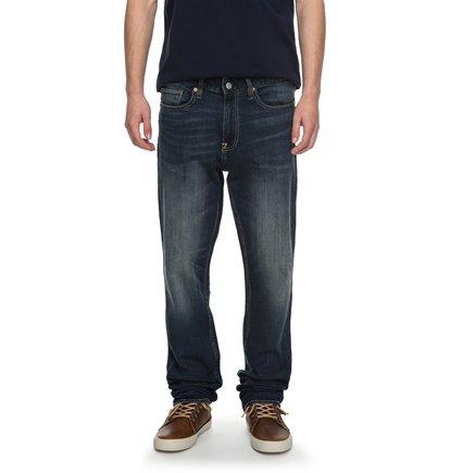 Worker Medium Stone Straight - Straight Fit Jeans  EDYDP03339