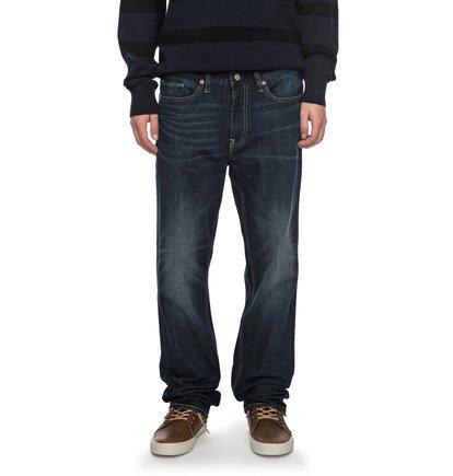 Worker Dark Stone Straight - Straight Fit Jeans  EDYDP03340