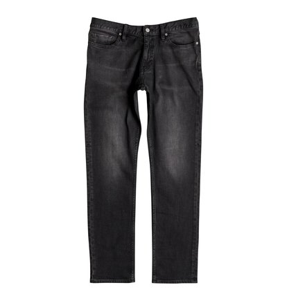 Worker Medium Grey Straight - Straight Fit Jeans  EDYDP03341