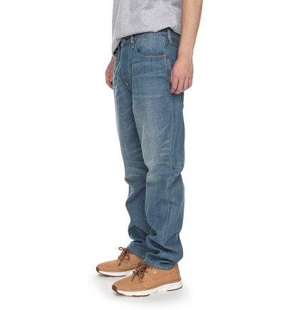 Широкие джинсы Worker Light Indigo Bleach Relaxed