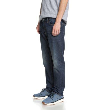 Прямые джинсы Worker Light Indigo Blue прямые джинсы worker stone wash straight