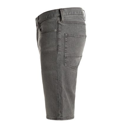 Джинсовые шорты Washed Light Grey