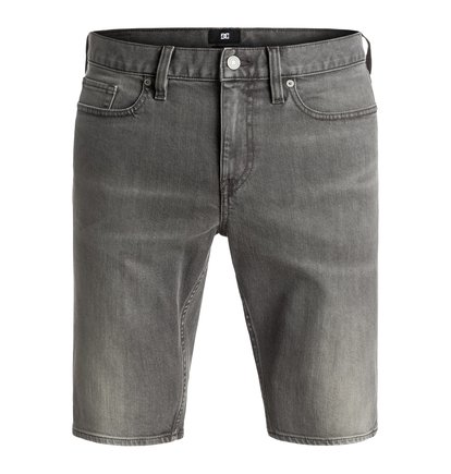 Washed Light Grey - Denim Shorts  EDYDS03021