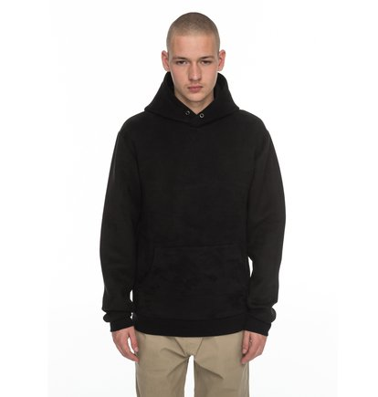 Atchison - Faux-suede Hoodie  EDYFT03322
