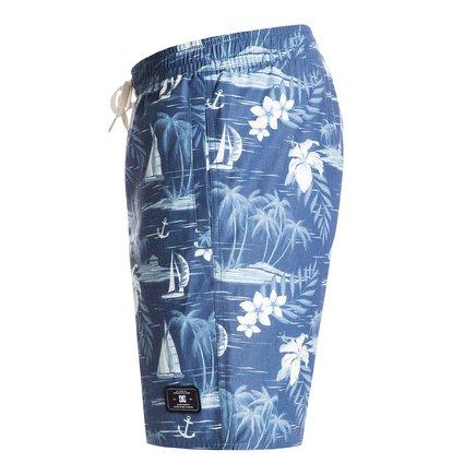 Cercius 16.5 Volley BoardshortsМужские пляжные шорты Cercius 16.5 от DC Shoes. <br>ХАРАКТЕРИСТИКИ: полусинтетический поплин, имитация ширинки, эластичный пояс, отверстия для шнуровки, сплошной принт, карманы у боковых швов, сеточные карманы, задний накладной карман, фирменная маркировка DC, длина бокового шва – 42 см (16.5). <br>СОСТАВ: 65% полиэстер, 35% хлопок.<br>