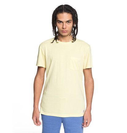 Купить Футболка Basic - Желтый, DC Shoes, 85% хлопок, 15% полиэстер