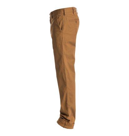 Worker Straight Fit Chino 32 ShortsМужские шорты Worker Straight Fit Chino 32 от DC Shoes. <br>ХАРАКТЕРИСТИКИ: легкая эластичная саржа, прямой крой, скошенные передние карманы, ширинка на молнии. <br>СОСТАВ: 98% хлопок, 2% эластан.<br>