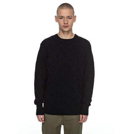 Solidify - Diamond-Knit Jumper  EDYSW03027