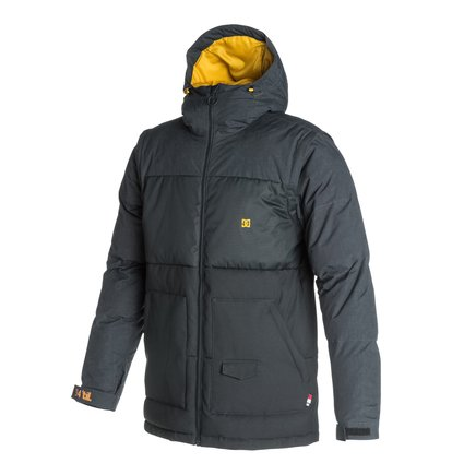 DownhillМужская сноубордическая куртка Downhill от DC Shoes. <br>ХАРАКТЕРИСТИКИ: противоснежная юбка, три способа регулировки капюшона, внутренние манжеты из лайкры, регулируемые манжеты, съемные рукава, стеганый дизайн, карман-кенгуру на молнии и карман для скипасса с нашивкой, скругленный сзади подол, потайной сеточный карман с изнанки, карман на молнии с изнанки с медиапортом. <br>СОСТАВ: 100% нейлон.<br>
