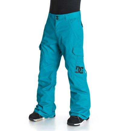BansheeМужские сноубордические штаны Banshee от DC Shoes. <br>ХАРАКТЕРИСТИКИ: критические швы проклеены, вентиляция с вставками из сетки, гейтер для сапога из тафты, регулировка пояса изнутри, клиновидные вставки на кнопке внизу штанин, система крепления куртки к штанам, держатель для скипасса, боковые карманы на молнии, прострочка под коленом, эргономичные «стрелки» на коленях, карманы-карго с защитным клапаном и выведенной в них системой подтягивания края штанины, задние карманы на липучке Velcro. <br>СОСТАВ: 100% полиэстер.<br>