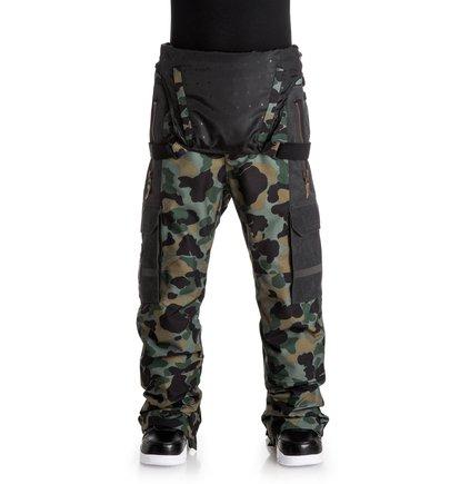 Сноубордические штаны-комбинезон Platoon
