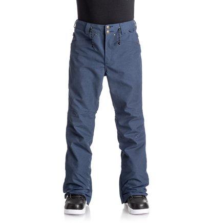 Купить Сноубордические штаны Relay - Синий, DC Shoes, 100% полиэстер