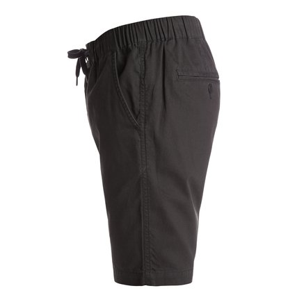 Eshott ShortsМужские шорты Eshott от DC Shoes. <br>ХАРАКТЕРИСТИКИ: хлопчатобумажная ткань в едва заметный продольный рубчик, прямой крой, ширинка на молнии, скошенные передние карманы. <br>СОСТАВ: 100% хлопок.<br>